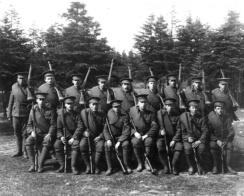 The loss of so many men is cited as a factor that led to Newfoundland joining Canada. (Room Archives)