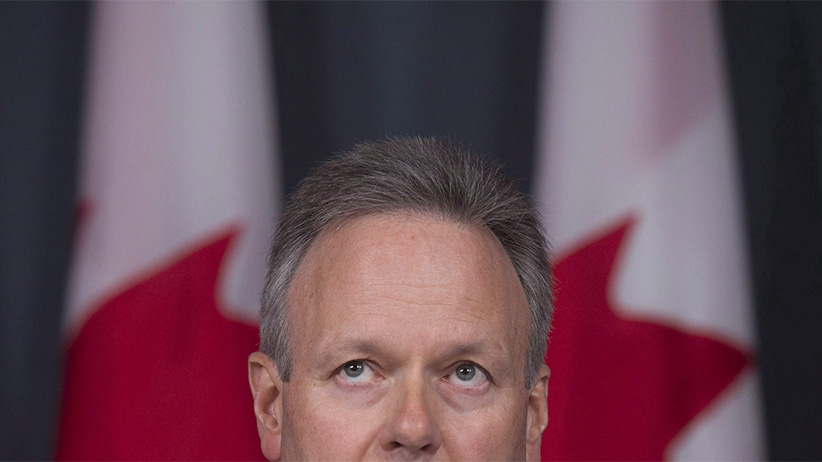 Bank of Canada Governor Stephen Poloz speaks about the Financial System Review during a news conference in Ottawa, Thursday,June 9, 2016. (Adrian Wyld/CP)