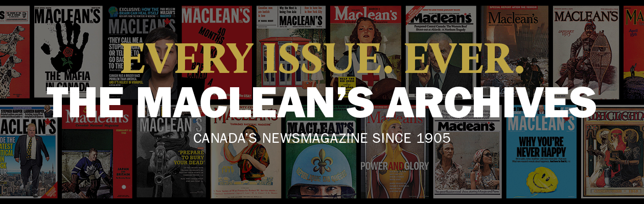 The Maclean's Archives