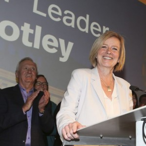 Alberta Premier Rachel Notley speaks at the Alberta NDP convention in Calgary, Saturday, June 11, 2016.THE CANADIAN PRESS/Mike Ridewood