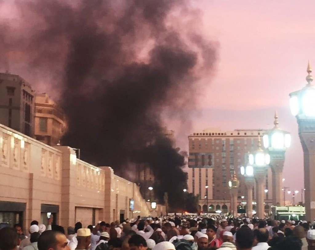 Explosion rocks one of Islam's holiest sites in Saudi Arabia