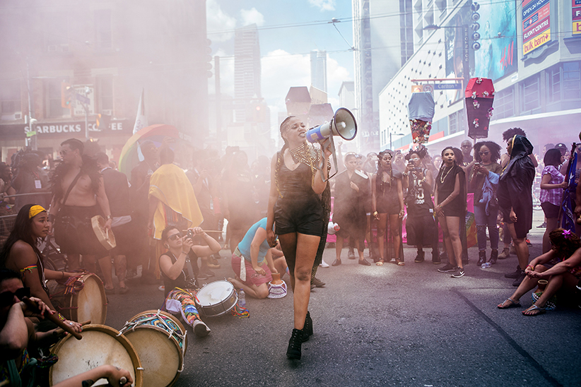 Black Lives Matter at Pride. (Photograph by Jennifer Roberts)