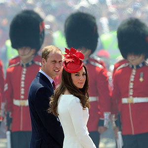 The Duke and the Duchess of Cambridge arrive to take part in Canada Day festivities on Parliament Hill in Ottawa on Friday, July 1, 2011. (Sean Kilpatrick/CP)