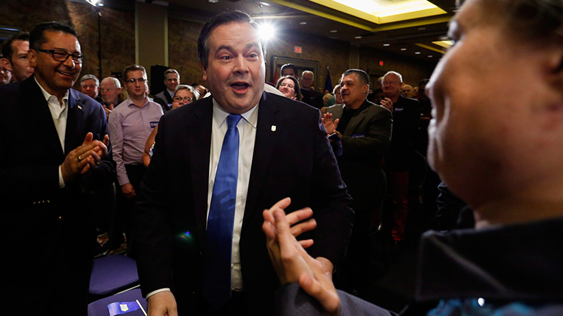 Alberta Conservative MP Jason Kenney arrives at an event announcing he will be seeking the leadership of Alberta's Progressive Conservative party in Calgary, Alta., Wednesday, July 6, 2016. (Jeff McIntosh/CP)