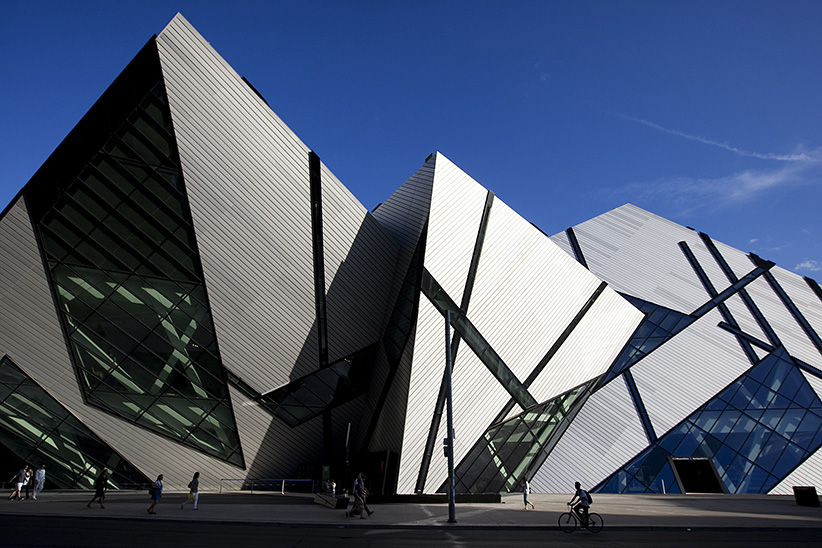 The Royal Ontario Museum Michael Lee-Chin Crystal. (Tara Walton/Toronto Star/Getty Images)