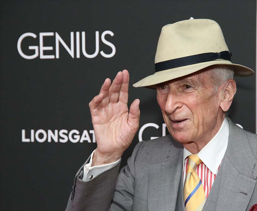 Gay Talese attends the New York premiere of 'Genius' at Museum of Modern Art on June 5, 2016 in New York City. (Walter McBride/Getty Images)