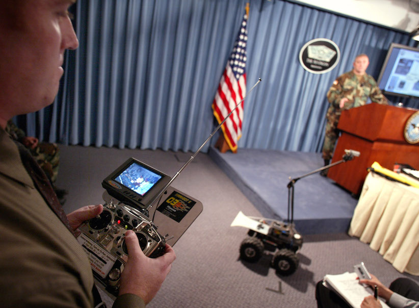 The Dallas police 'bomb robot' that killed a sniper