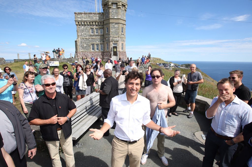 How Mark Critch photobombed the prime minister