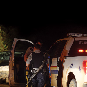 RCMP in Grande Prairie, Alberta. (William Vavrek)