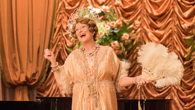 Meryl Streep as Florence Foster Jenkins in Florence Foster Jenkins by Paramount Pictures, Pathé and BBC Films. (Paramount Pictures)