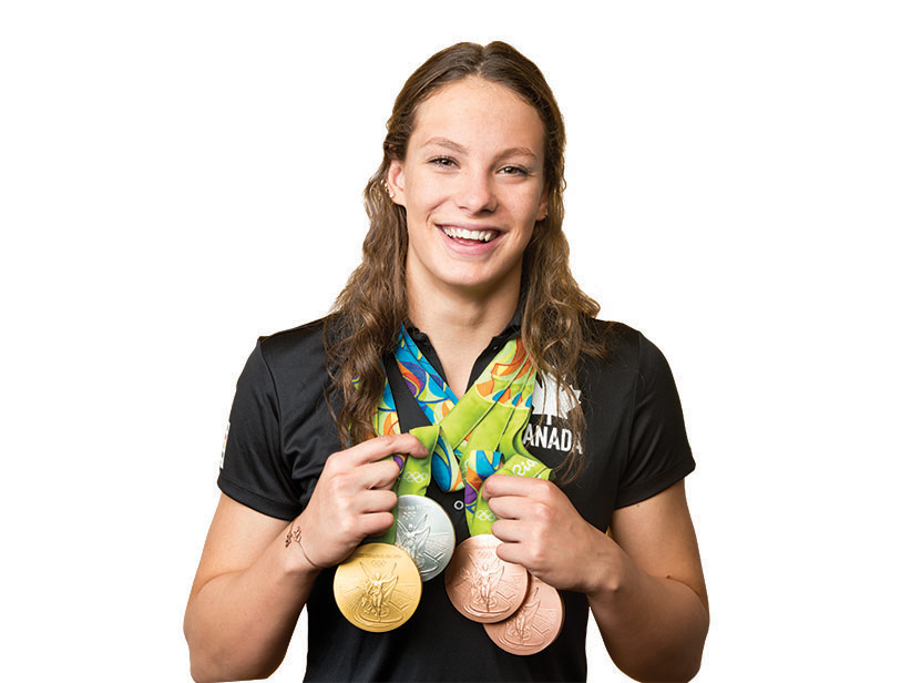 Penny Oleksiak. (Photograph by Gabriel Rinaldi/Redux Pictures)