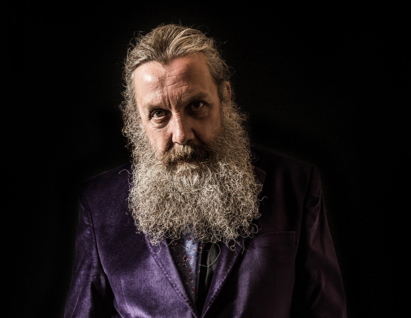 Alan Moore. (Kevin Nixon/SFX Magazine/Getty Images)
