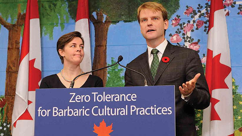 Chris Alexander and Kelly Leitch, November 20 2014. (cic.gc.ca)