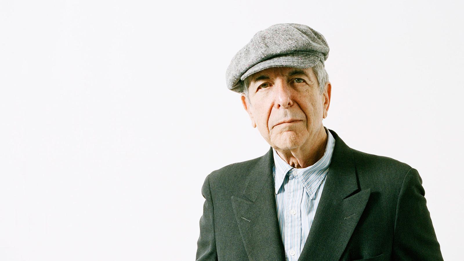 Leonard Cohen. (Michael Donald/eyevine/Redux)