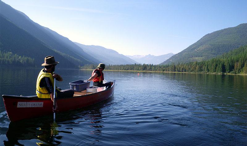 Selkirk College Canoe Trip