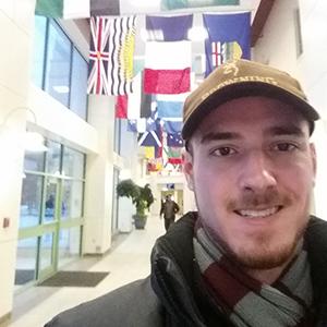 University of Regina student Taylor MacPherson.