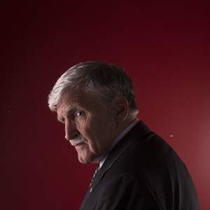 A portrait of Lieutenant-General Roméo Dallaire. (Photograph by Roger Lemoyne)