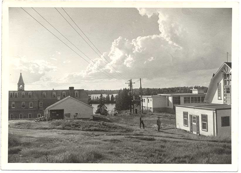 Buildings at St. Mary's circa 1940-1960. (Shingwauk Residential Schools Centre, Algoma University)