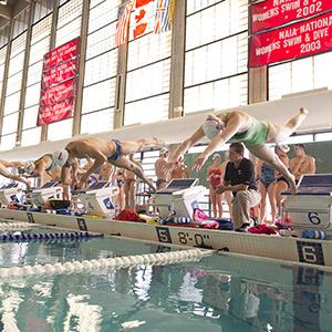 University rankings 2017 Students Swimming