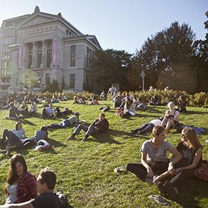 University Rankings 2017 Students on Campus