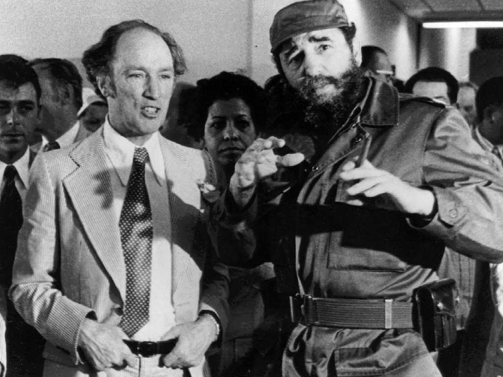 On Castro's death, a look at Fidel and Pierre—and Justin