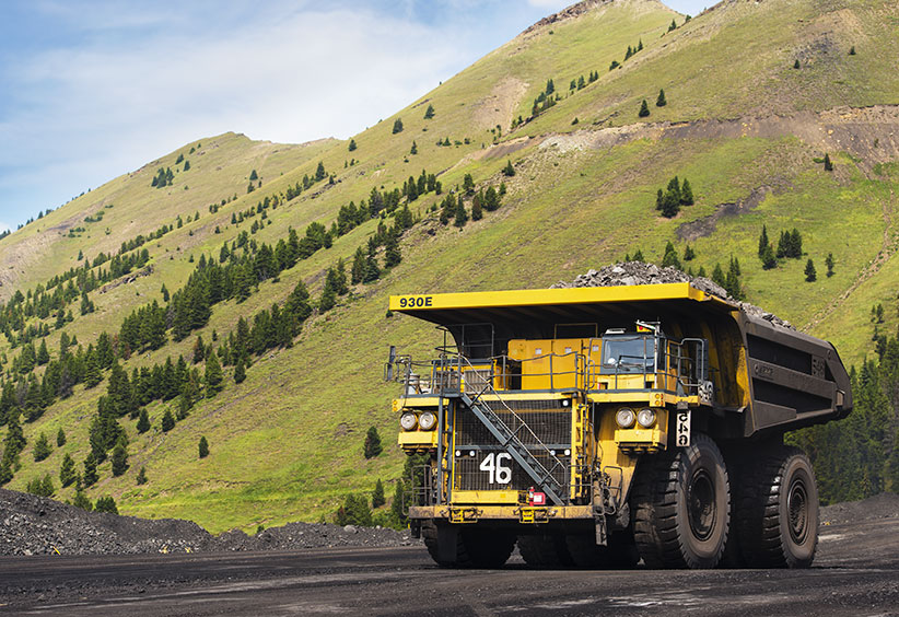 College of the Rockies Haul Truck