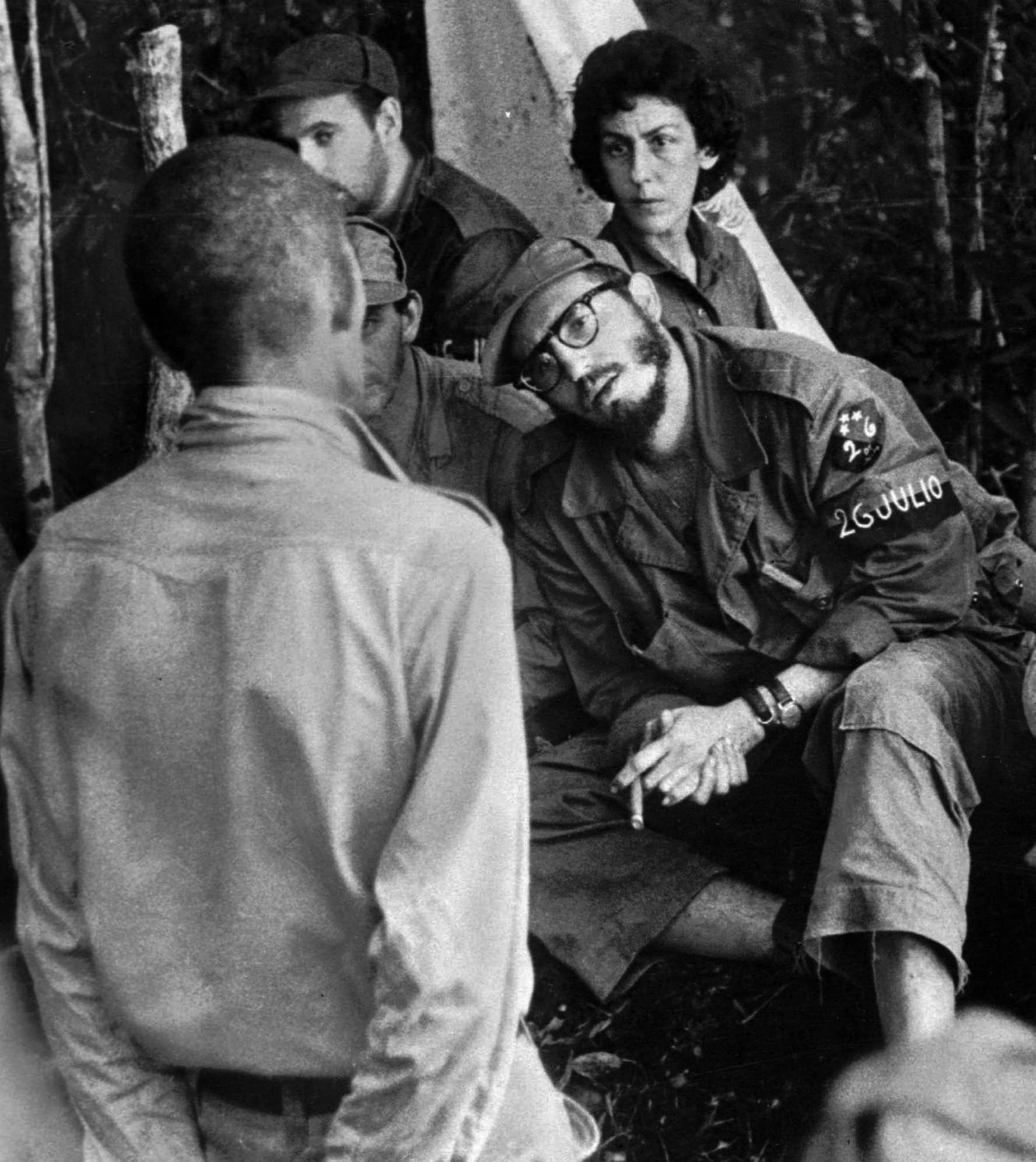 In This 1958 File Photo, Cuba's Leader Fidel Castro