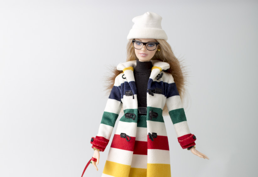 Hudson's Bay Company Collection Barbie (Photograph by Nick Iwanyshyn)