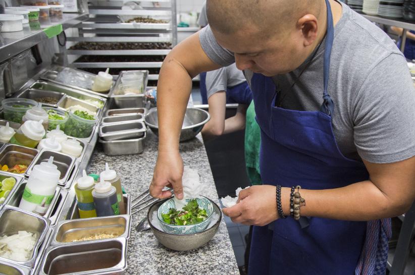 Chef David Lee at Planta in Toronto. (Photograph by Chris Robinson)