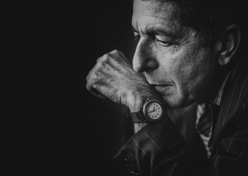 "Leonard Cohen, photographed in Oslo, Norway, during the world tour of the promotion of the album ""The Future"". (Antonio Olmos/eyevine/Redux)"
