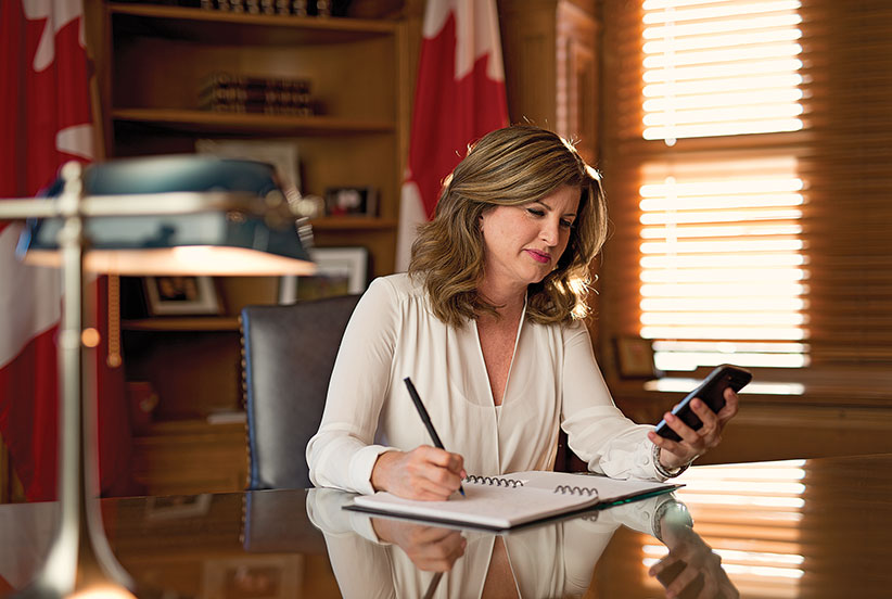 Rona Ambrose. (Photograph by Jessica Deeks)