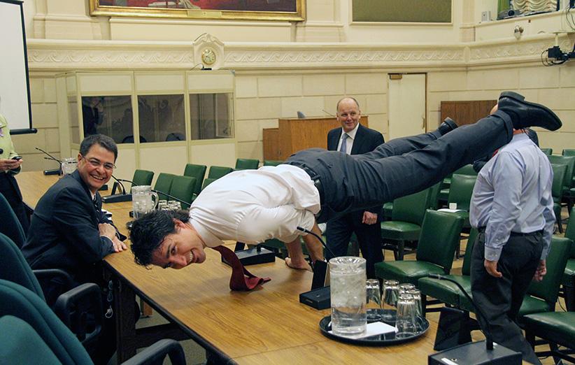 Justin Trudeau. (S. Gregory Kolz)