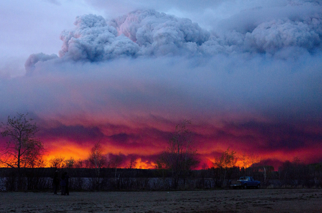 May 4, 2016: A wildfire struck the Fort McMurray area, becoming the most expensive disaster in Canadian history. (Jason Franson/CP)