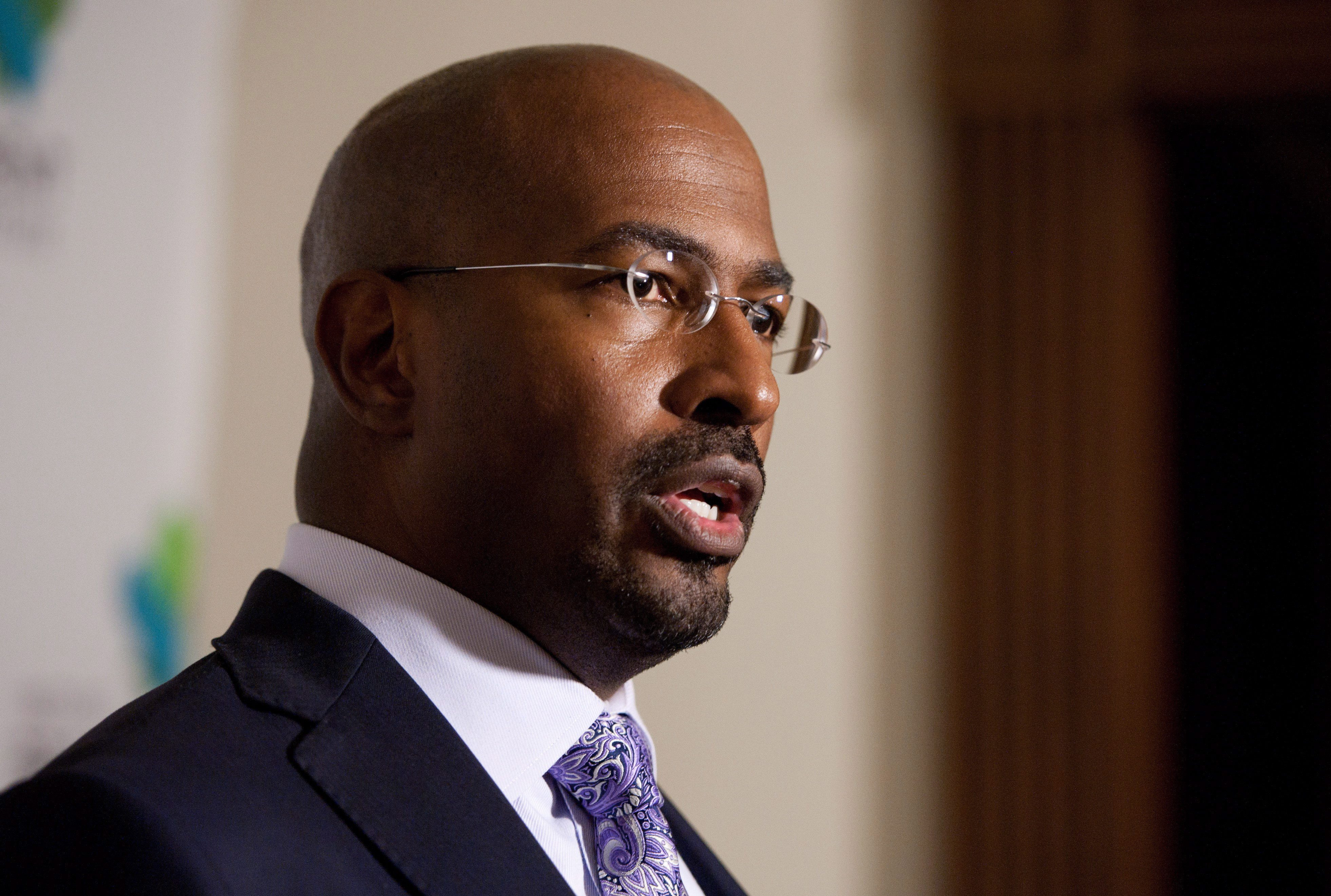 CNN political contributor Van Jones answered questions in advance of a ...