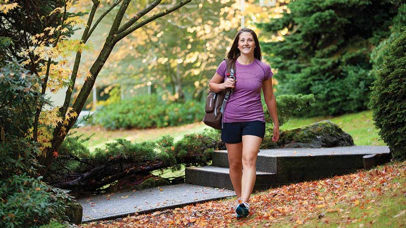 Vancouver Island University student