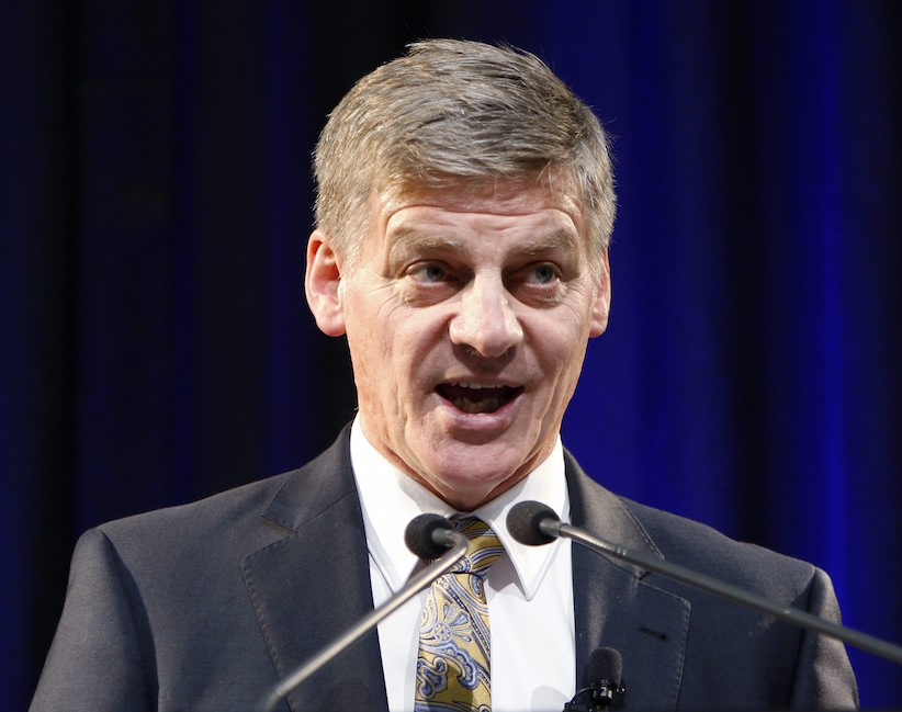 Bill English becomes New Zealand's prime minister