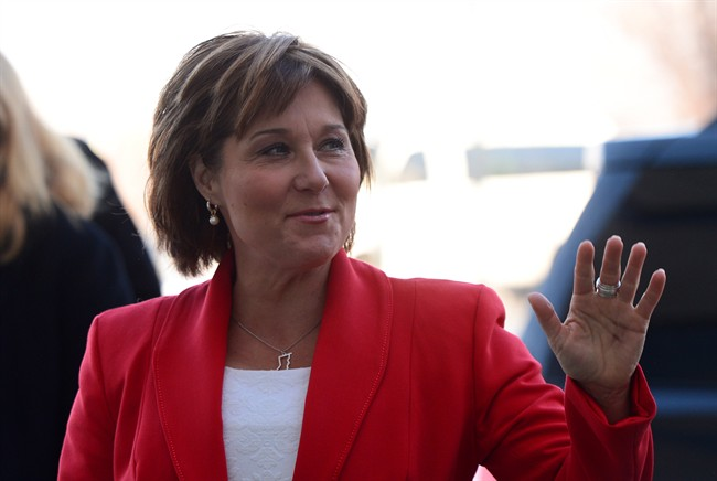 B.C. Premier Christy Clark arrives to take part in the Meeting of First Ministers and National Indigenous Leaders in Ottawa on Friday, Dec. 9, 2016. THE CANADIAN PRESS/Sean Kilpatrick