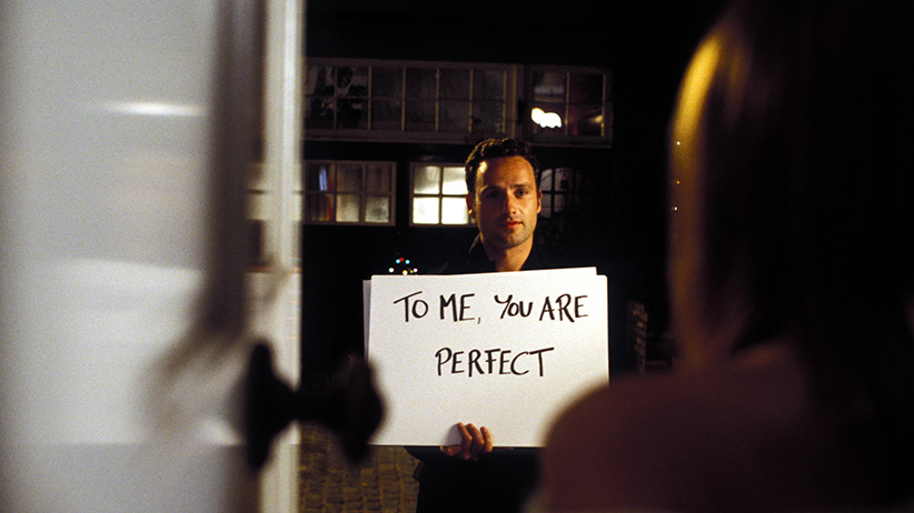 A still from the movie, Love Actually, 2003. (Universal/Everett Collection)