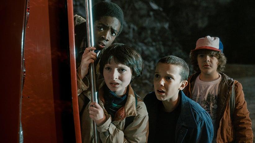 Stranger Things. (Netflix/Everett Collection)