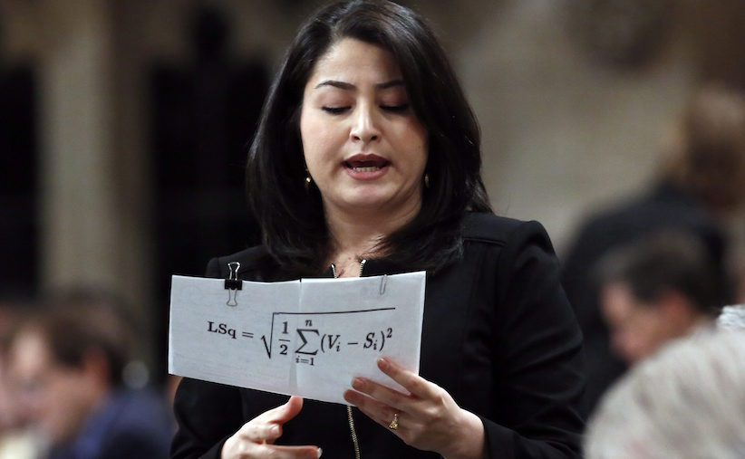 The problem with Maryam Monsef's contempt for metrics