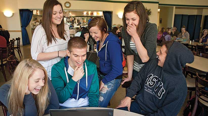 Mount Saint Vincent University students