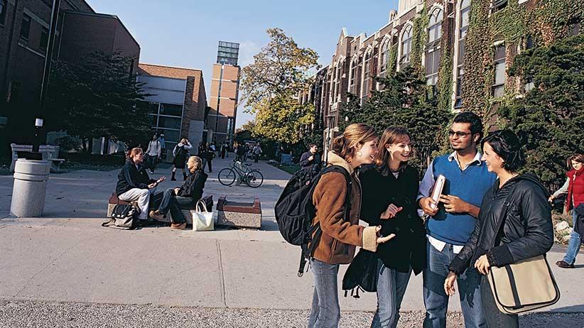 University of Windsor students