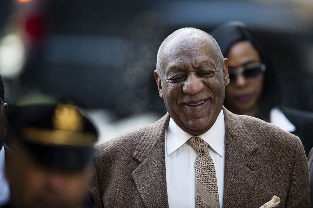 Bill Cosby arrives for a pretrial hearing in his sexual assault case at the Montgomery County Courthouse in Norristown, Pa., Wednesday, Dec. 14, 2016. (Matt Rourke/AP)