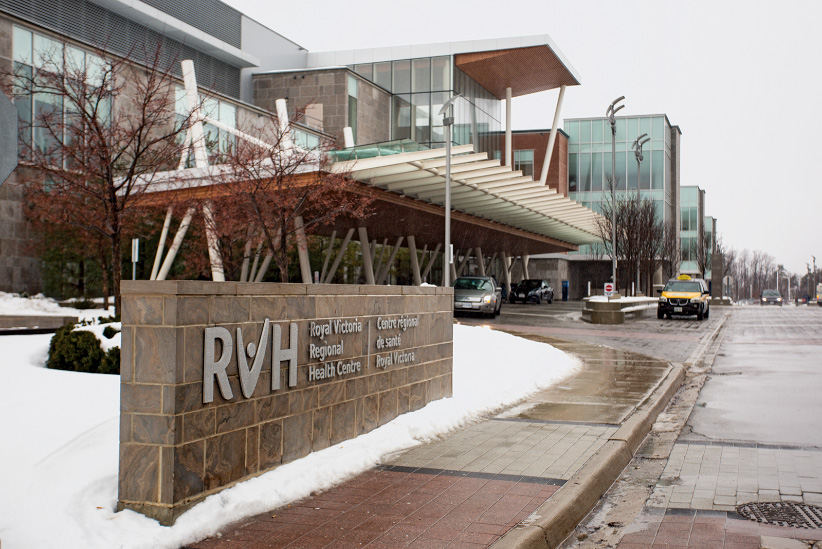 Royal Victoria Regional Health Centre in Barrie. (Photograph by Nick Iwanyshyn)