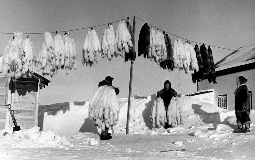 Eskimo Point, NWT, 1950. (Estate of Richard Harrington/Stephen Bulger Gallery) ONE TIME USE ONLY. NO CROPS.