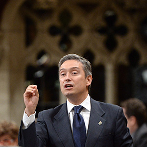 Francois-Philippe Champagne responds to a question during question period in the House of Commons on Parliament Hill, in Ottawa on Friday, Sept. 30, 2016. (Sean Kilpatrick/CP)