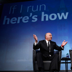 Kevin O'Leary, Mr. Wonderful, in Ottawa February 26, 2016. (Photograph by Blair Gable)