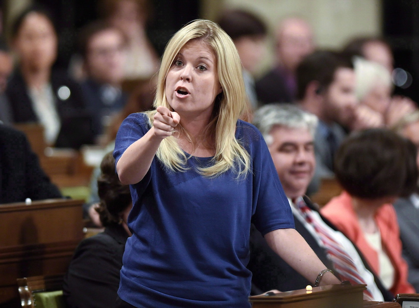 Conservative MP Michelle Rempel asks a question during Question Period in the House of Commons in Ottawa on Tuesday, June 7, 2016. (Justin Tang/CP)