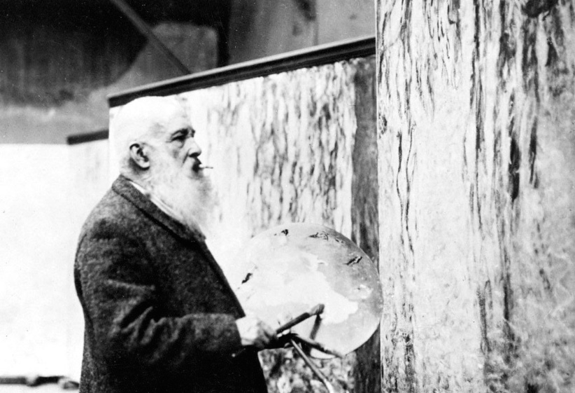 The painter Claude Monet at work in his studio. (Everett Collection/CP)