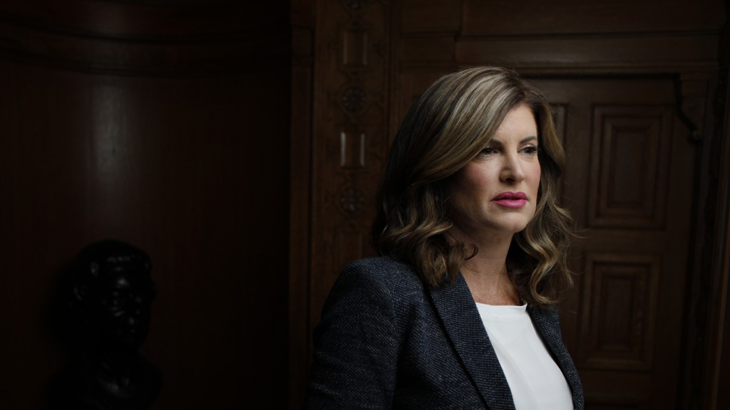 Conservative interim-leader Rona Ambrose in Ottawa February 1, 2017. (Photograph by Blair Gable)